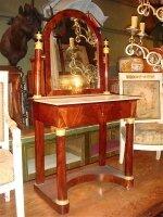 58. Антикварный Туалетный столик. Ампир. 19 век. 138x71x40 см. Цена 3300 евро.