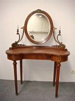 83. Антикварный Туалетный столик с зеркалом. 19 век. 105х52х139 см. Цена 1500 евро