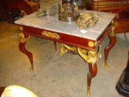 Антикварный Ампирный столик. 19 век. 96x65x74 см