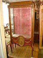 35. Антикварная Витрина. 19 век. 177x84x42 см