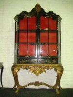 Антикварная Китайская витрина. 19 век. 150x43x216 см. Цена 9000 евро