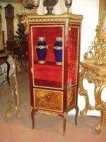Антикварная Витрина. 19 век. 70x30x142 см. Цена 2500 евро