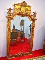 14. Антикварное Зеркало. 19 век. 240x128x13 см. Цена 9000 евро.