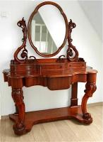 4. Антикварный Туалетный столик с зеркалом. 19 век.