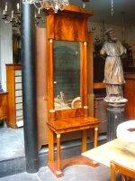 62. Антикварное Зеркало с консолью. 19 век. 83х43х270 см. Цена 5500 евро