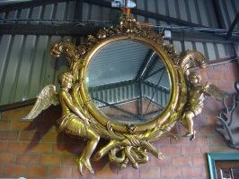 7. Антикварное Зеркало. Около 1800 года. 280x280 см. 7500 евро.
