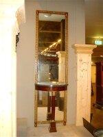 Антикварное зеркало с консолью. 19 век. 220x64x32 см. Цена 2000 евро